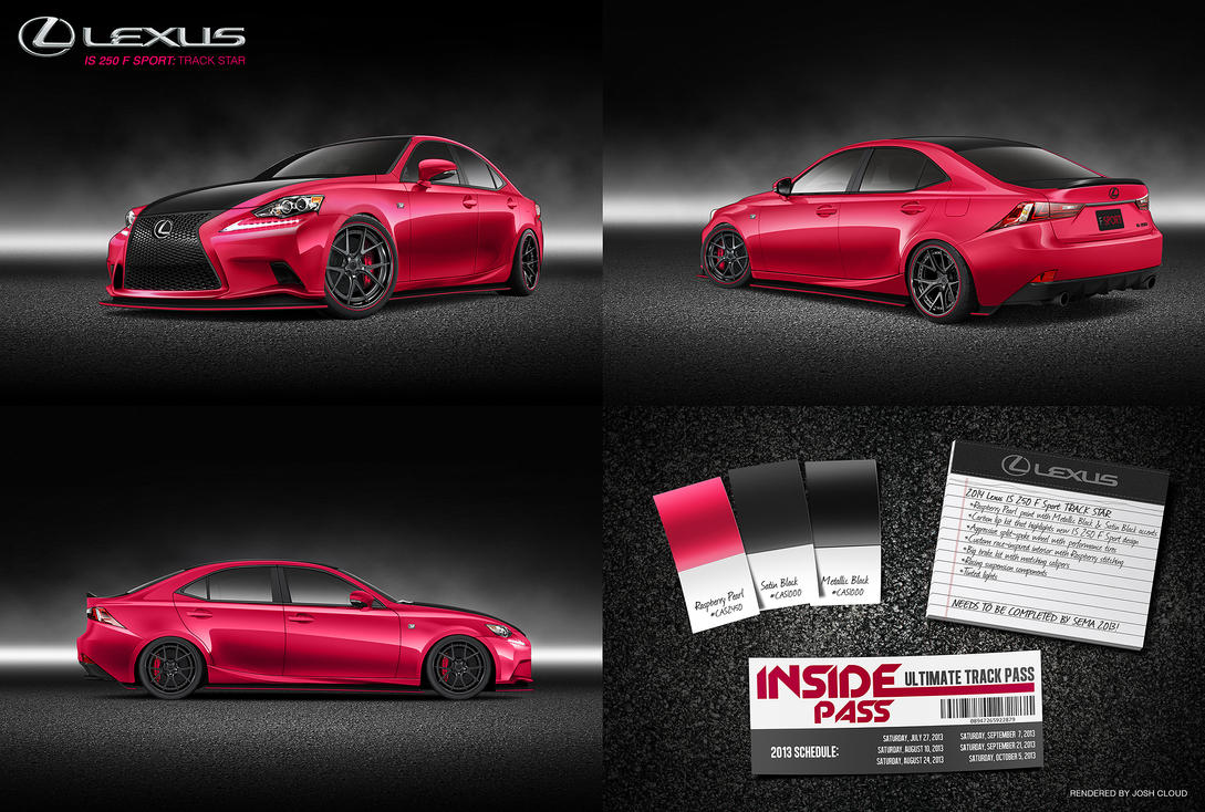 Lexus IS 250 F Sport: Track Star by JoshCloud