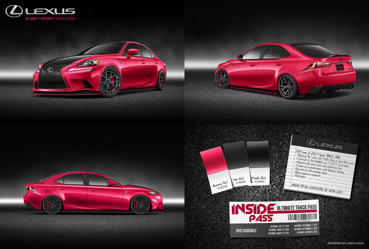 Lexus IS 250 F Sport: Track Star by JoshCloud