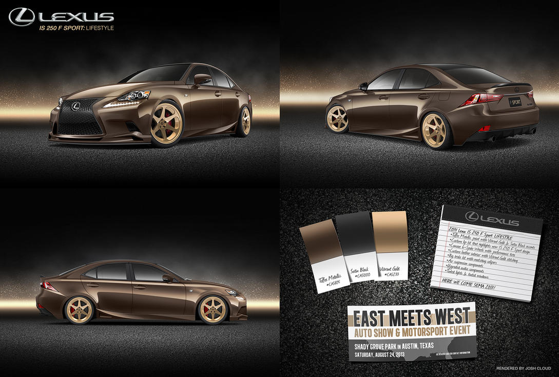 Lexus IS 250 F Sport: Lifestyle by JoshCloud
