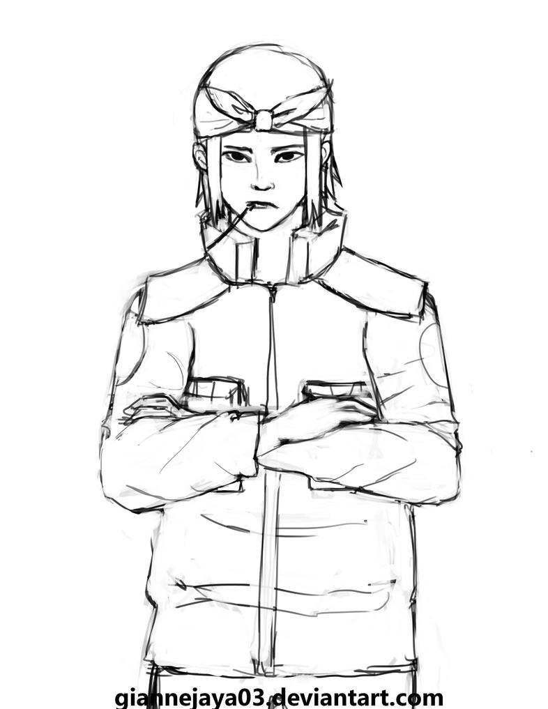 Genma rough sketch by dchanna