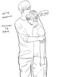 Jeremy and Anthony by dchanna