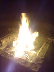 Warm fire by Printti