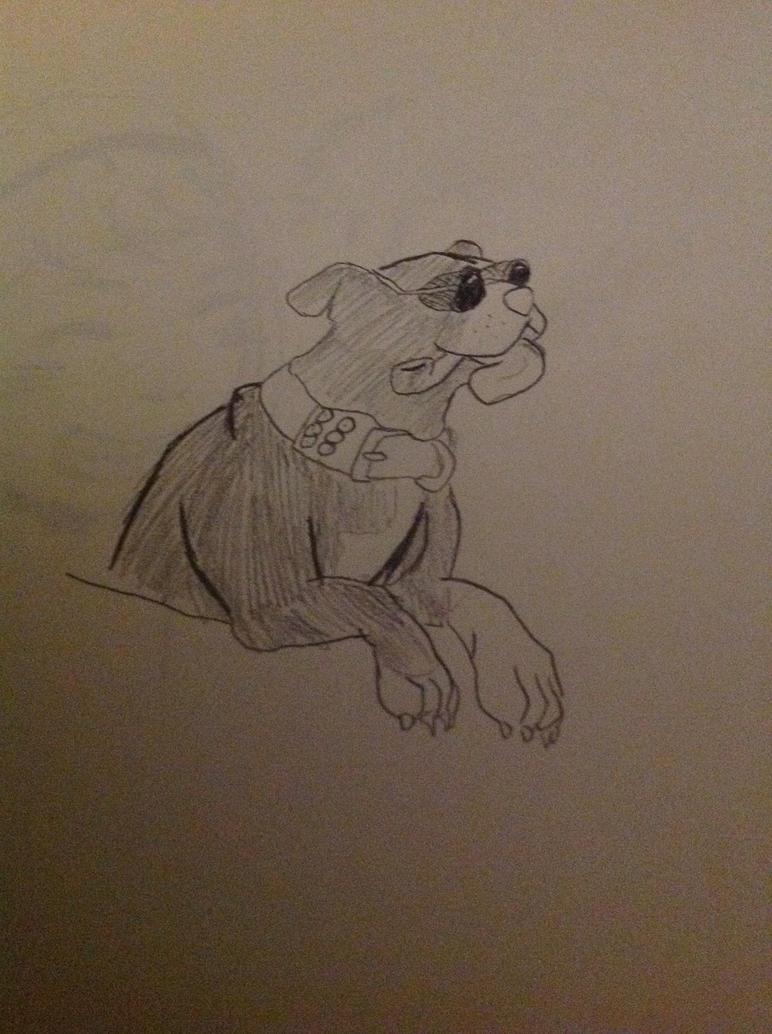 Addison The Talking Dog By AnteikuMask
