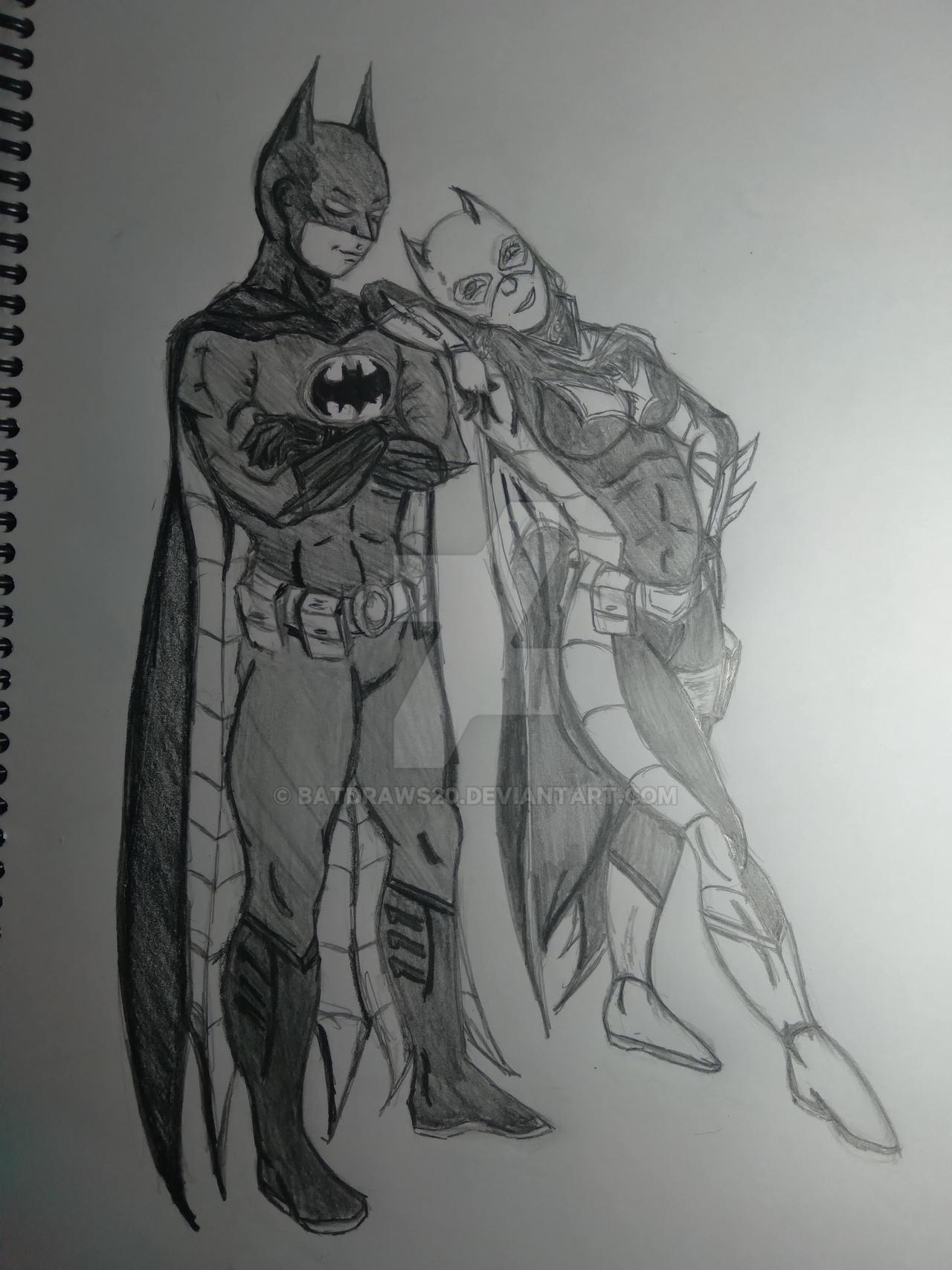 Batman-Batwoman (Future Tim and Steph)