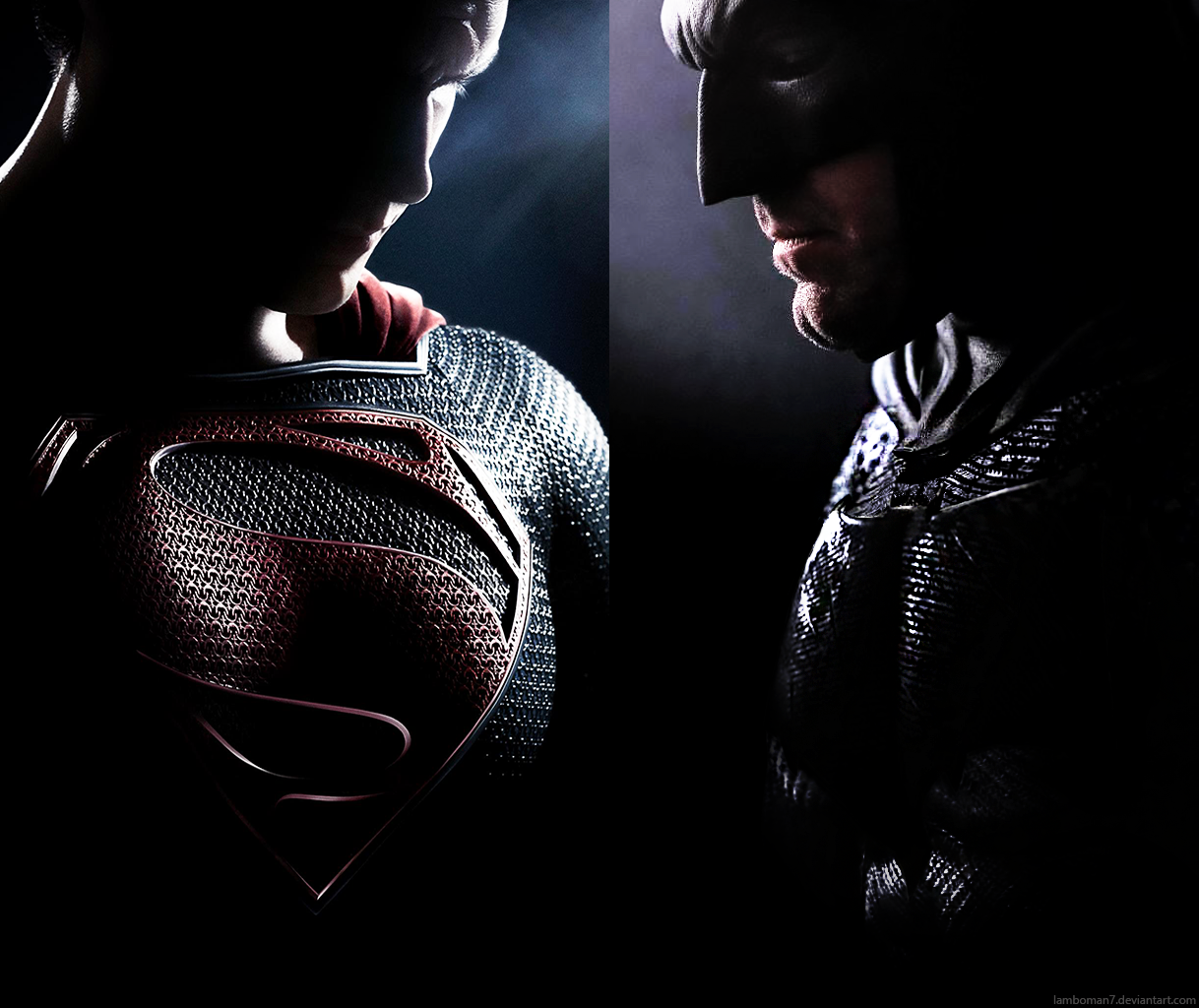 Batman V Superman Dawn Of Justice Poster No Logo By LamboMan7