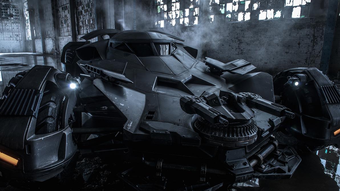The Batmobile - Batman v Superman Wallpaper by LamboMan7
