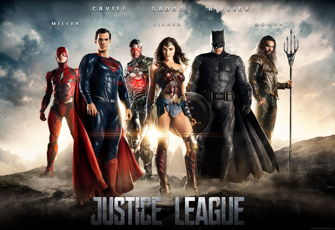 Justice league poster by lamboman7 on deviantart for Buy art posters online