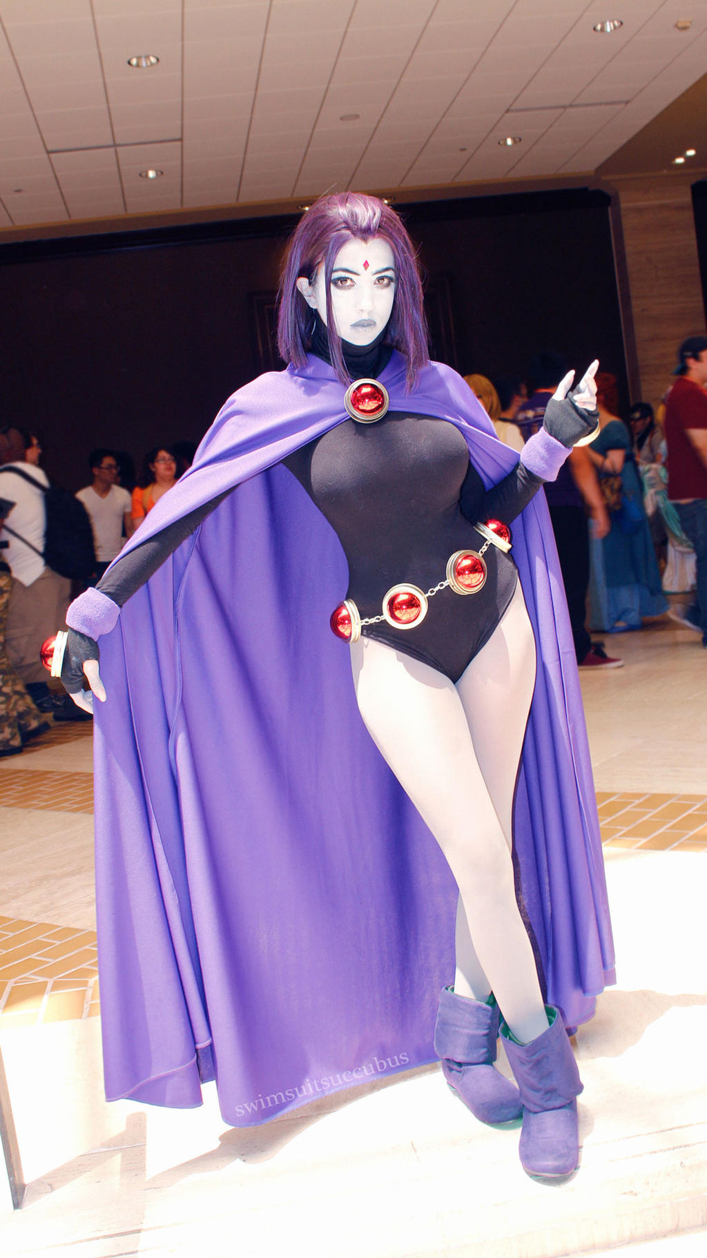 Raven Cosplay 2016 by swimsuitsuccubus