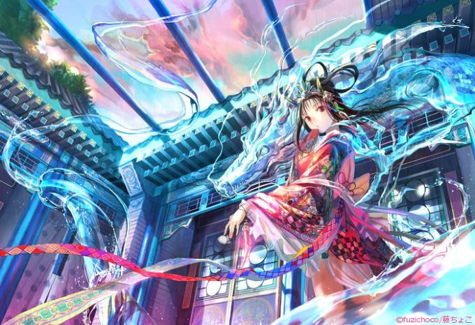 The Dragon Girl by Fuzichoco