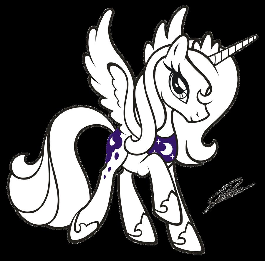how to draw a newfoundland pony