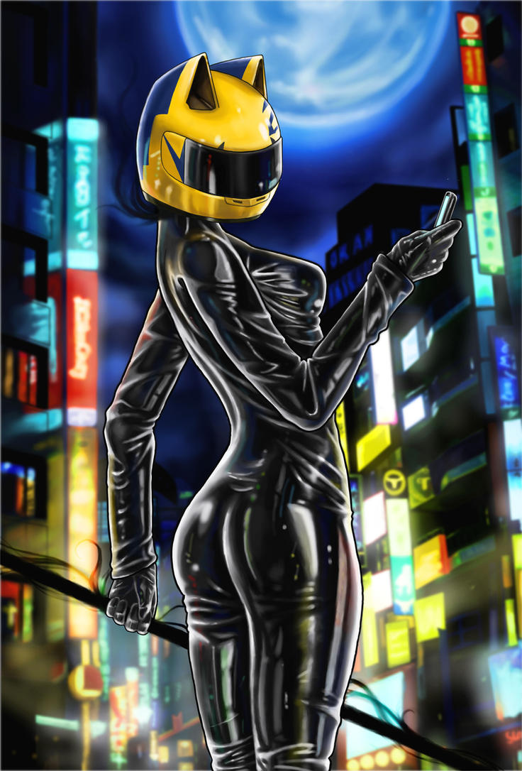 Celty by ChihuahuasInTheMist