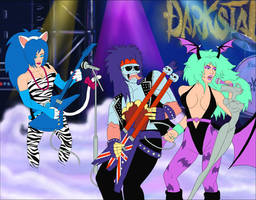 Darkstalkers x Jem and the Holograms