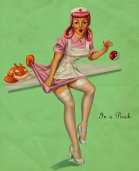 Nurse Joy: In a Pinch by ChihuahuasInTheMist