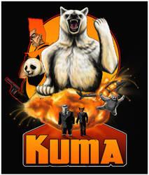 Kuma: Bear of Action by ChihuahuasInTheMist