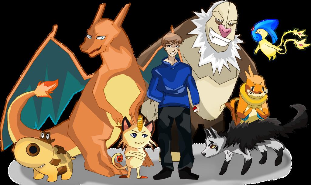 Pokemon Team For Selena5000 On Pokefarm by somefreshmaymays