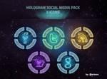 Hologram Social Media Pack