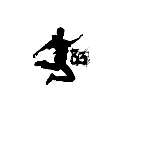 BE FREE Parkour Style Logo By 2NiNe