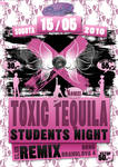 TOXIC TEQUILLA flyer