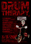 DRUM THERAPY 5 flyer