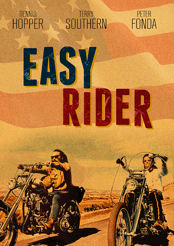 Easy Rider alternative movie poster by 2NiNe on DeviantArt Easy Rider Movie Poster