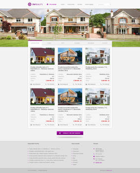 Real Estate Agency Homepage