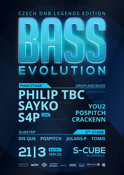 DNB Evolution 21/03/2014 flyer