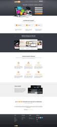 Webnode - new homepage concept by 2NiNe