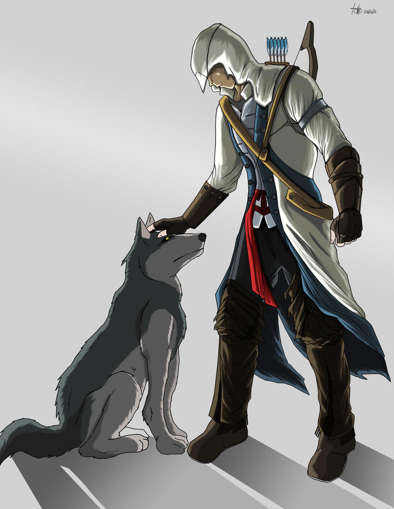 Assassins Creed III Fan Art by kakarotoo666