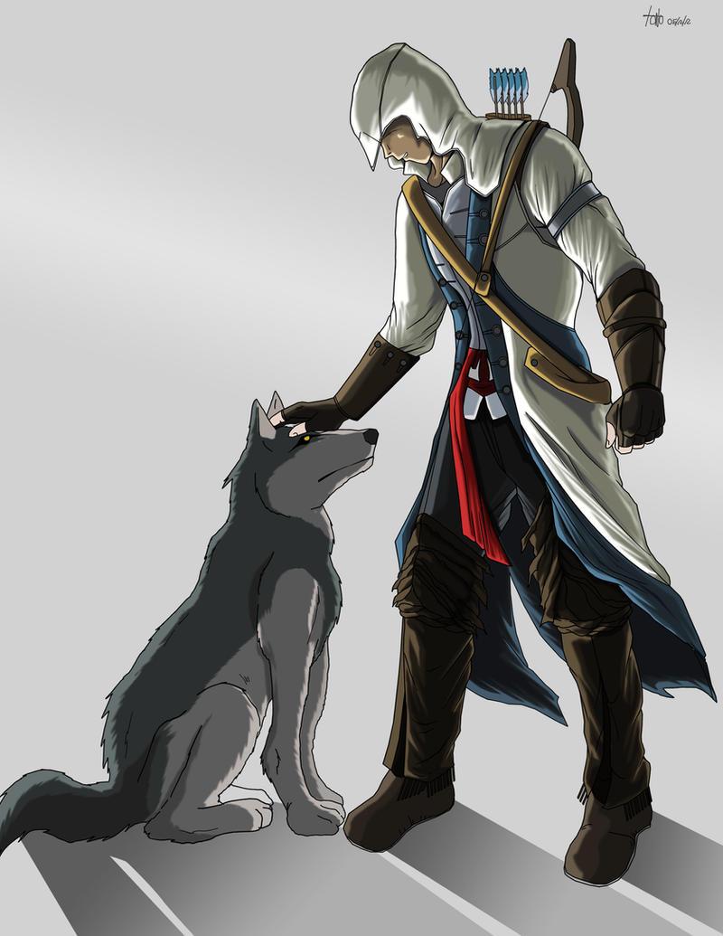Assassins Creed III Fan Art by kakarotoo666