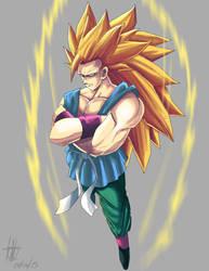 Goku ssj3 fan art by kakarotoo666