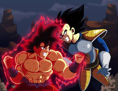 Goku vs Vegeta 2018