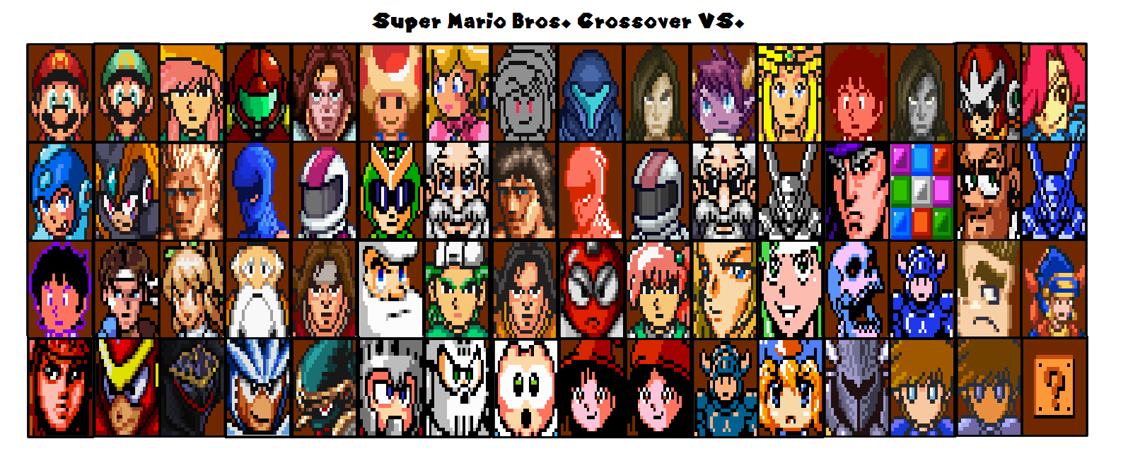 Super mario bros crossover vs by hboy333333 on deviantart