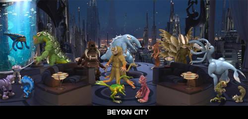 Spore - Beyon City by Hydromancerx
