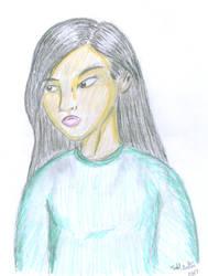 Asian Girl by Hydromancerx