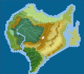 Hex Dinotopia by Hydromancerx