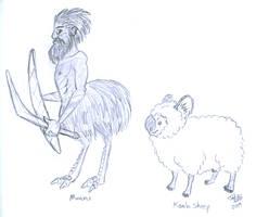 Osse - Manmu and Koala Sheep