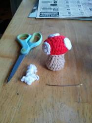 Little mushroom by ShuggaMagnolia