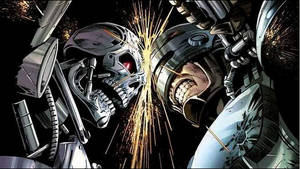 T-800 Vs Robocop