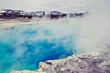 Saphire Pool Yellowstone