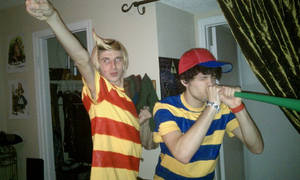Lucas and Ness Cosplay