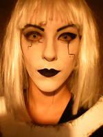 GLaDOS makeup, wig test by antaale