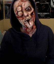 Dying Light inspired makeup