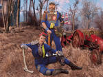 Fallout 4 raiders in vault suit