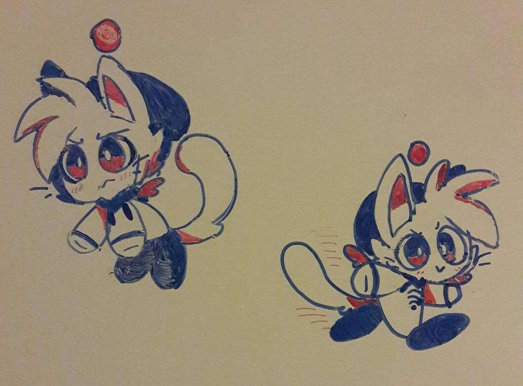 Chao Jayden doodles by DINKY-INK