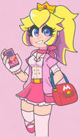 Peach by DINKY-INK
