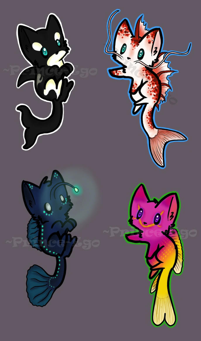 Water Kittens Adoptables [AUCTION - CLOSED] by Prince-Ego