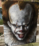 Pennywise 16x20 oil on canvas