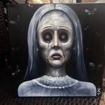 Little Sister 12x12 oil on canvas