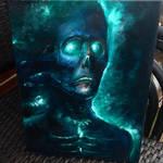 GLOW 9x12 oil on canvas