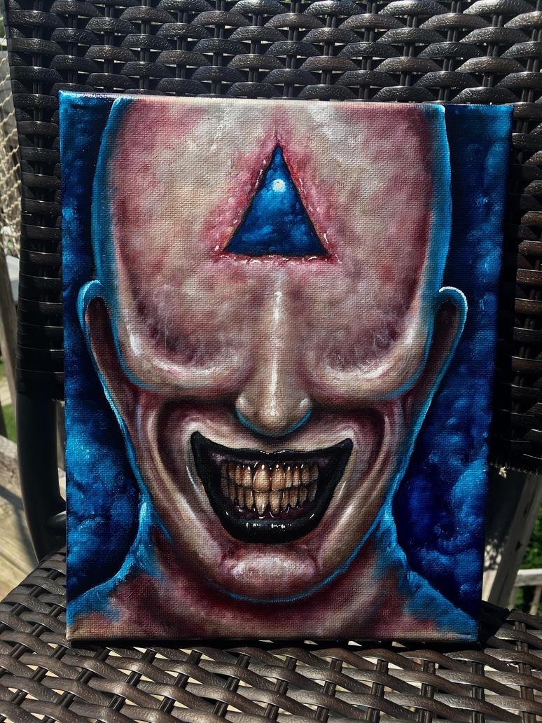Beware the Smiling Man  by zackdunn89